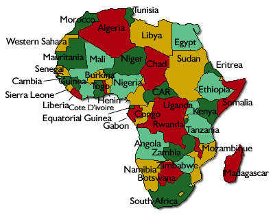 Map Of Africa 2014 | Map Of Africa