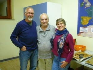 Giuseppe, the OM Sicilian Cook (along with Dawn Mann.  I loved his smile and his cooking!